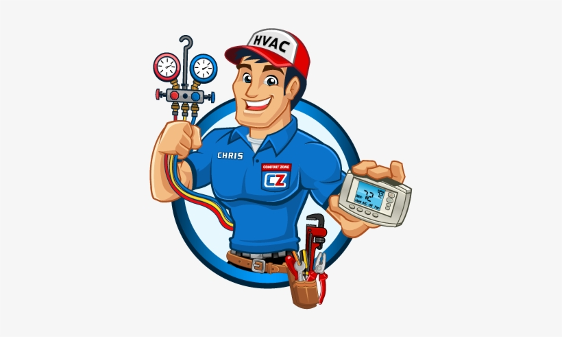 Air Conditioner Clipart Hvac Air Conditioner Service Man