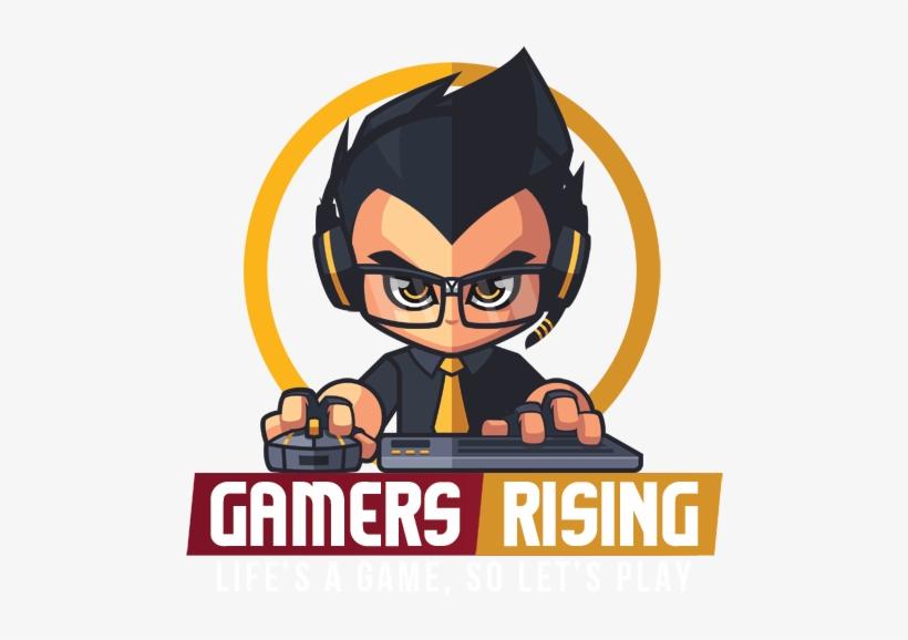 Pc Gamer Logo Png Gamers Rising Free Transparent Png Download Pngkey