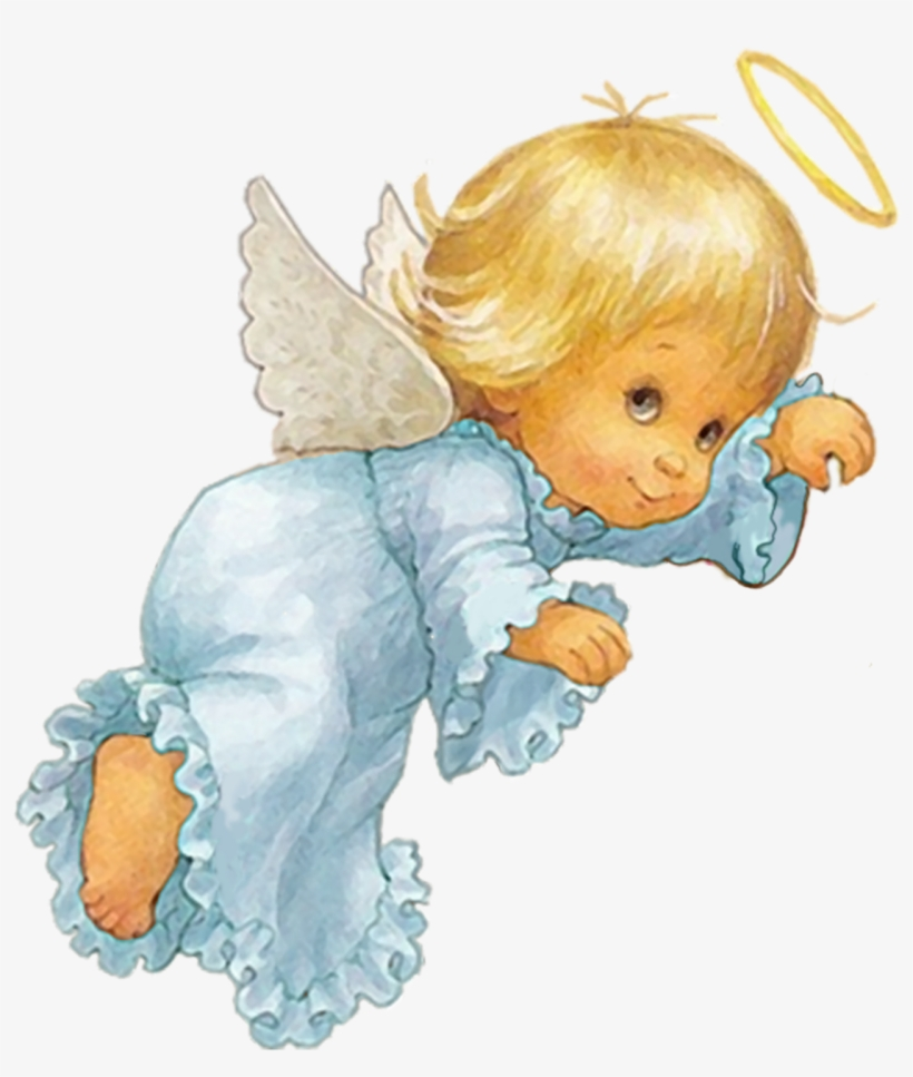 Baby Angel Png Angeles De Bebes Animados Free Transparent Png