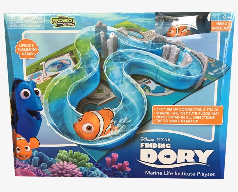 Swimming Nemo And Marine Life Institue Robo Fish Playset - Disney Pixar Finding Dory Marine Life Institute Playset, transparent png #898642