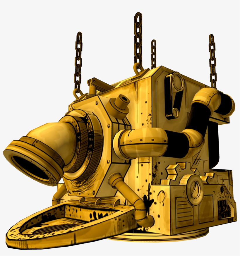 Bendy And The Ink Machine Ink Machine, transparent png #8902425