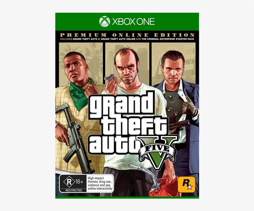 Grand Theft Auto V - Gta 5 Premium Online Edition, transparent png #8905299