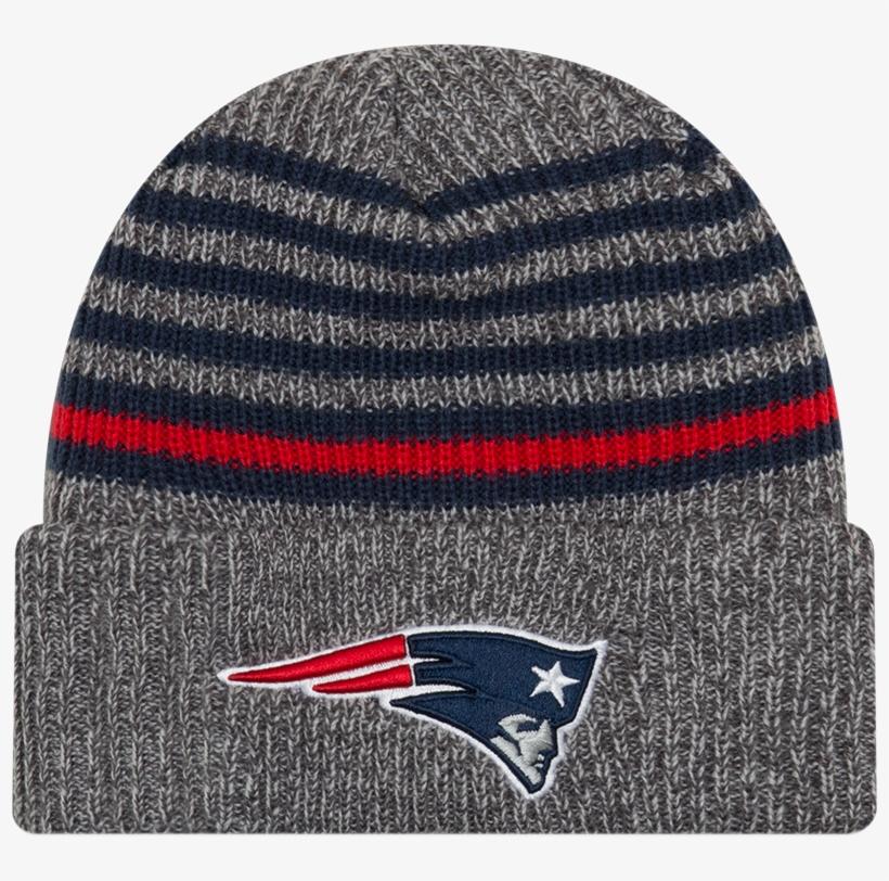 New Era Nfl New England Patriots Strong Stripe Toque - New England Patriots, transparent png #8909164