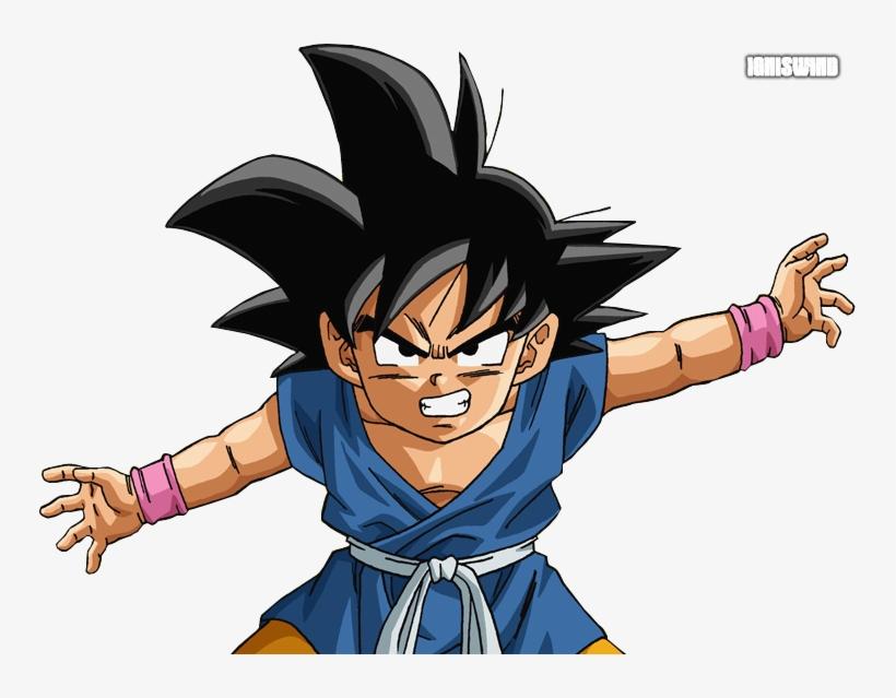 Gt Kid Goku - Goku Dragon Ball Gt Render, transparent png #8912010