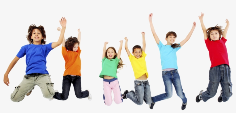 The Big Bounce - Happy Kids Png, transparent png #8912318