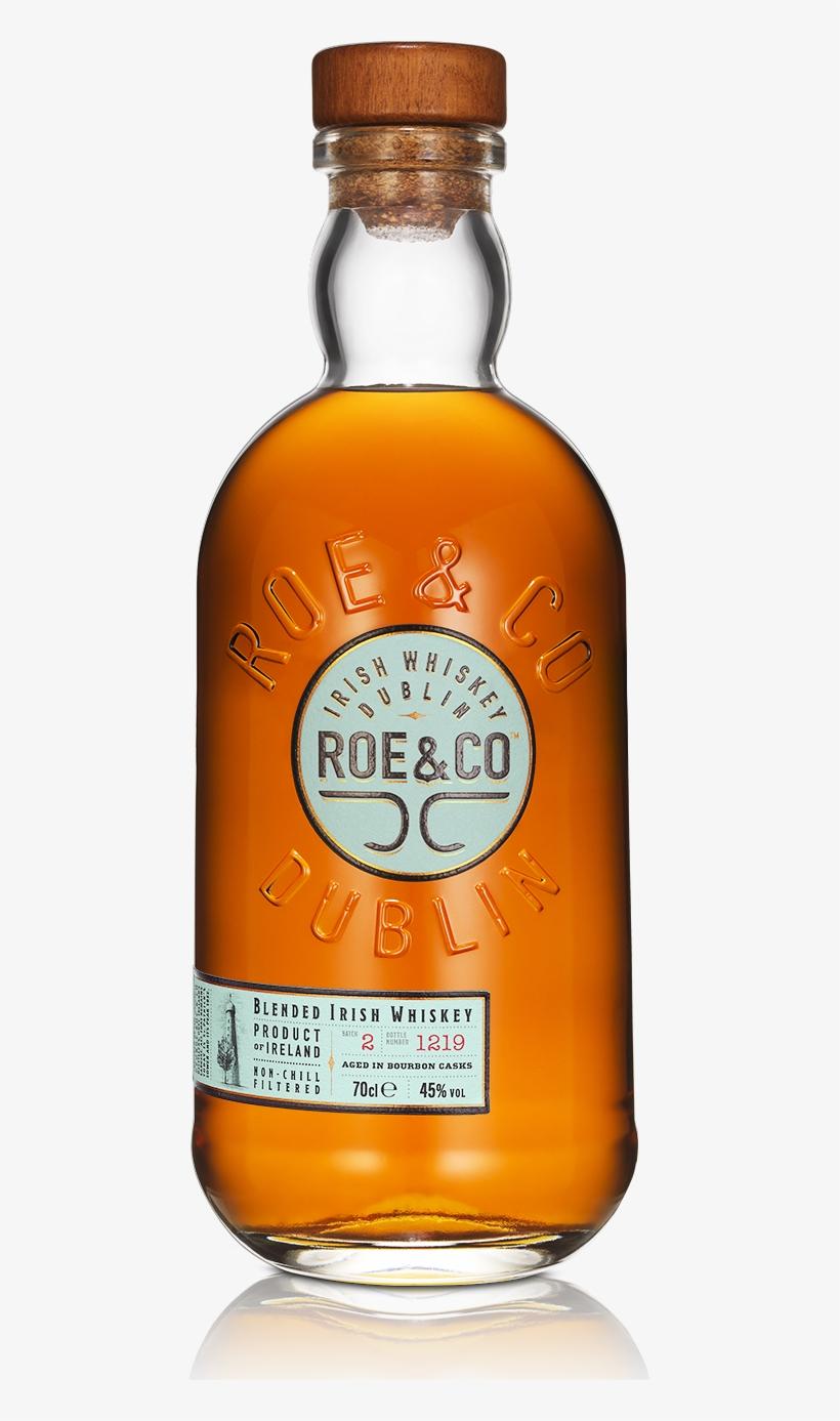 Blended Irish Whiskey - Roe & Co Irish Whiskey, transparent png #8919864