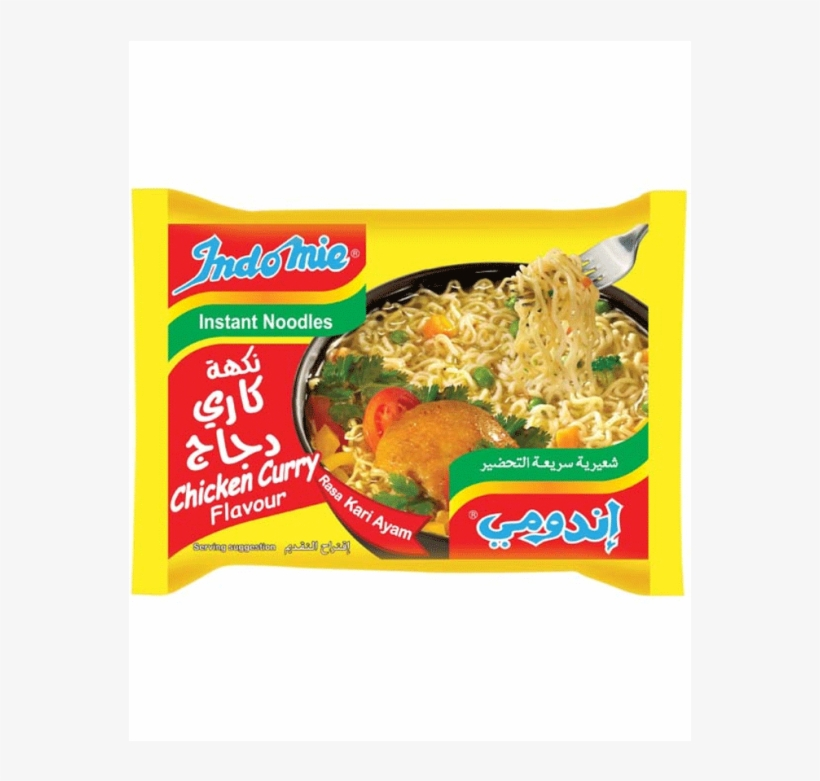 089686120134s - Indomie Chicken Curry 75g, transparent png #8921195