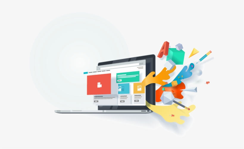 Affordable Prices Hosting - Website Design Banner Vector, transparent png #8923454