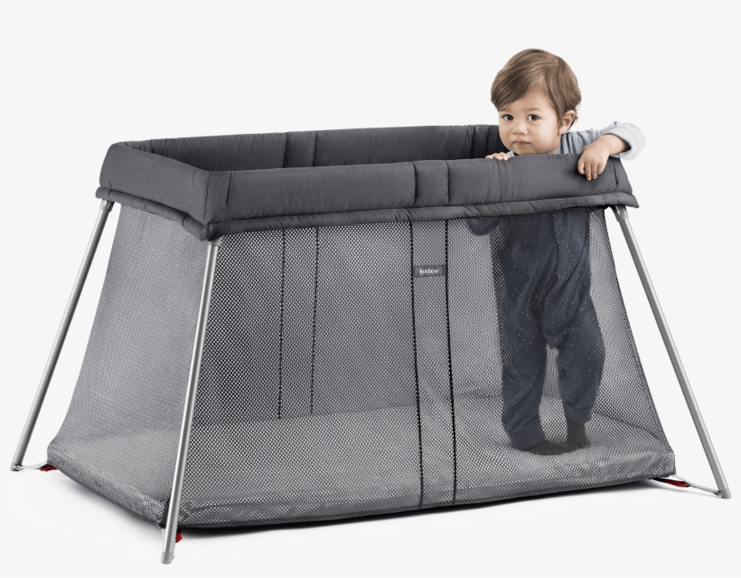 Travel Cot Easy Go - Baby Bjorn Travel Cot, transparent png #8930495