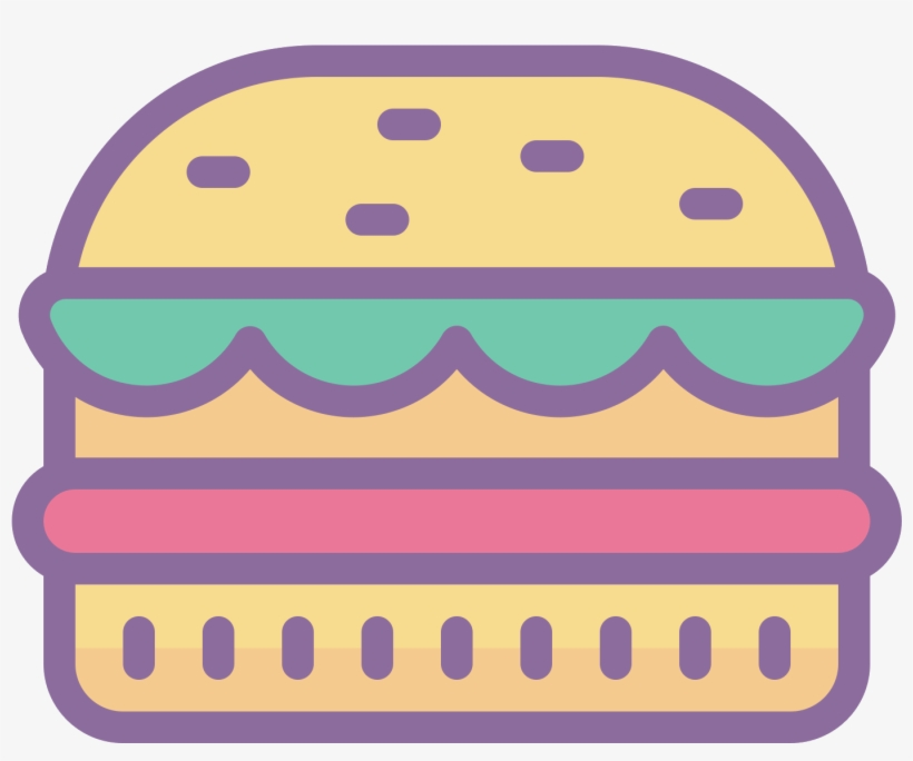 This Icon Resembles A Hamburger - Instagram Highlight Burger Icons, transparent png #8931614