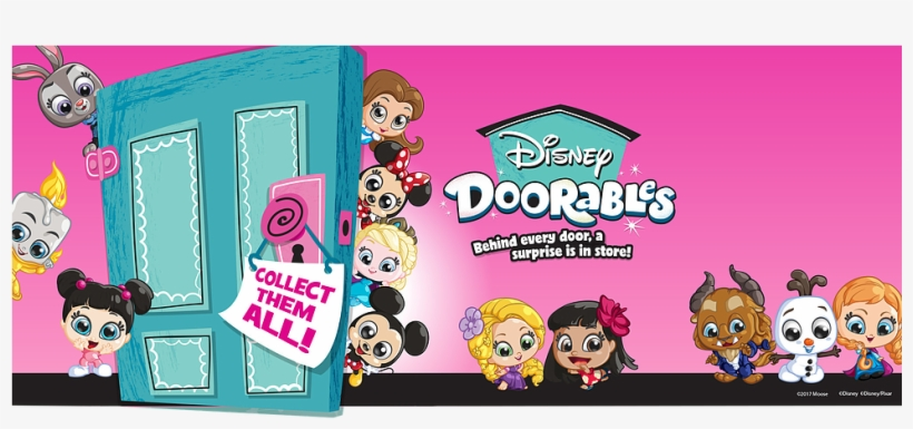 Discover, Collect And Display Your Favourite Disney - Disney Doorables, transparent png #8938472