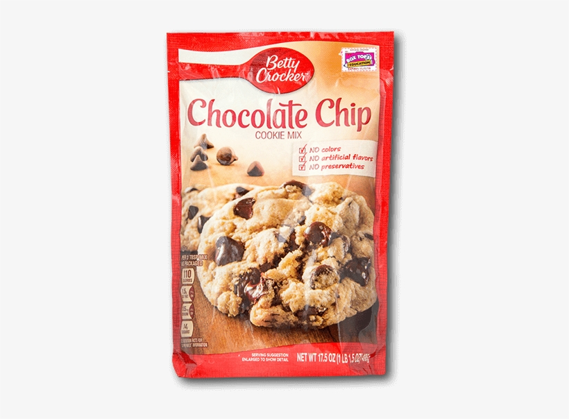 Betty Crocker Cookie Mix - Betty Crocker Chocolate Chip Cookie Mix, transparent png #8940108