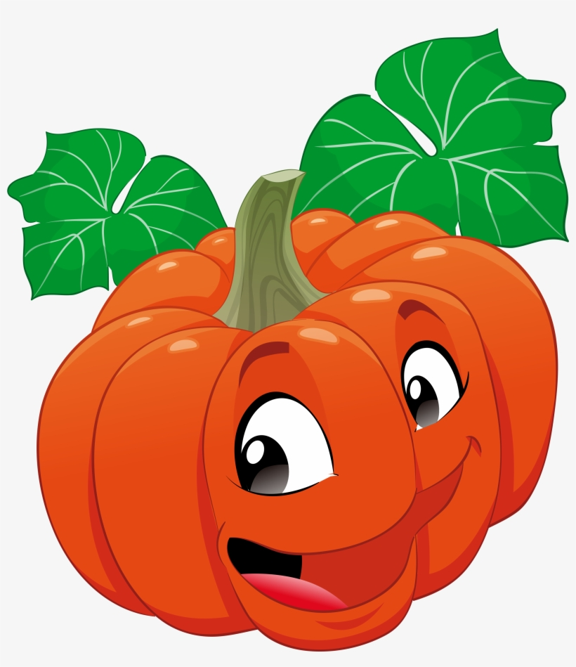 Calabaza Animation Fruits Vegetables - Health Benefits Of Organic Food Cartoon, transparent png #8942672