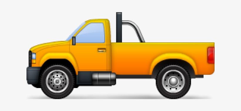 Pickup Truck Clipart - Pickup Truck, transparent png #8943079