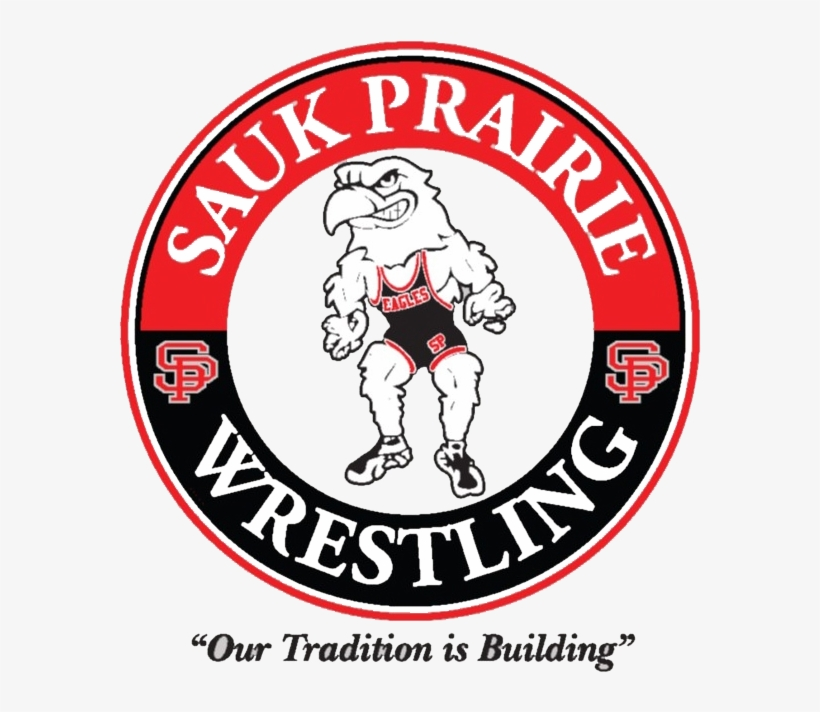 High School Wrestling Team - Sauk Prairie Eagles Wrestling, transparent png #8943313