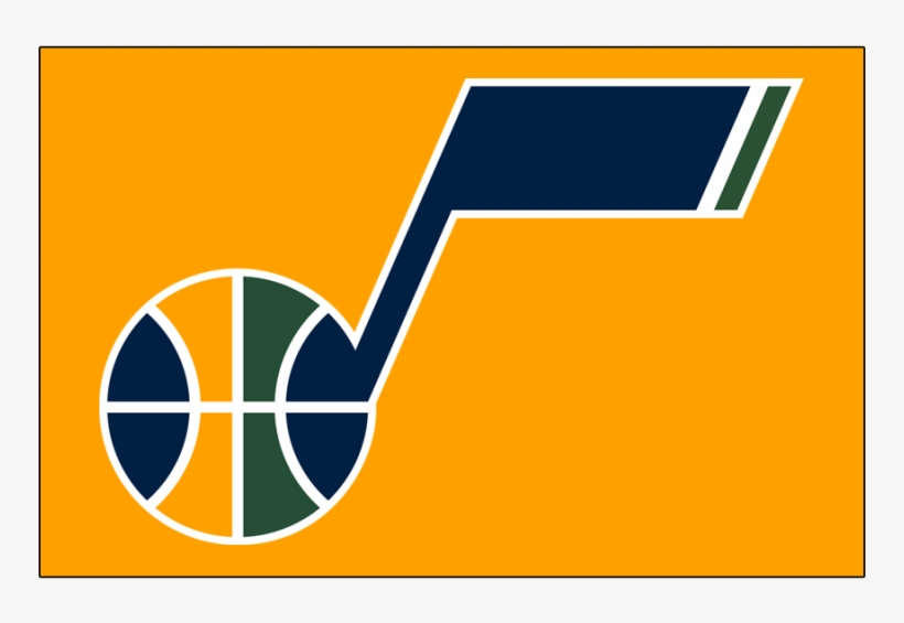 Utah Jazz Primary Logos Iron On Stickers And Peel-off - Utah Jazz Logo 2017, transparent png #8956843