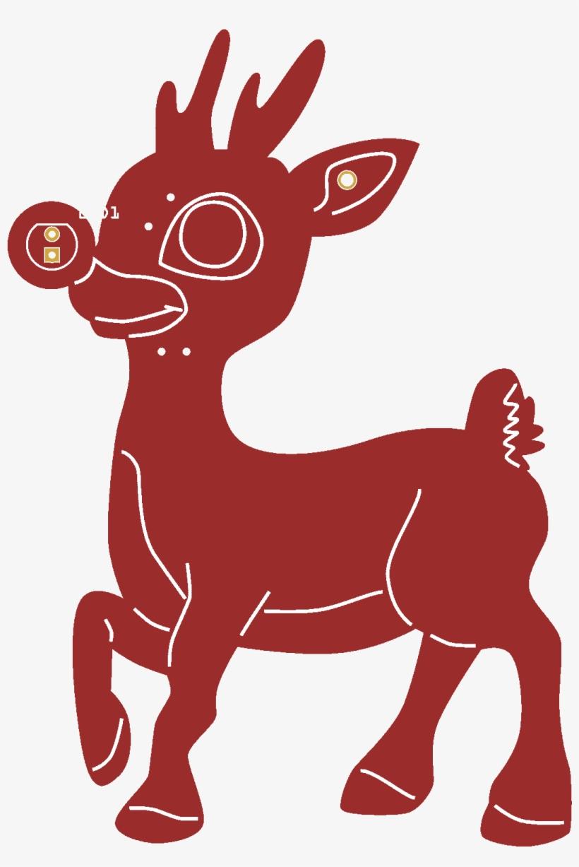Rudolph - Pepe Reindeer, transparent png #8960571