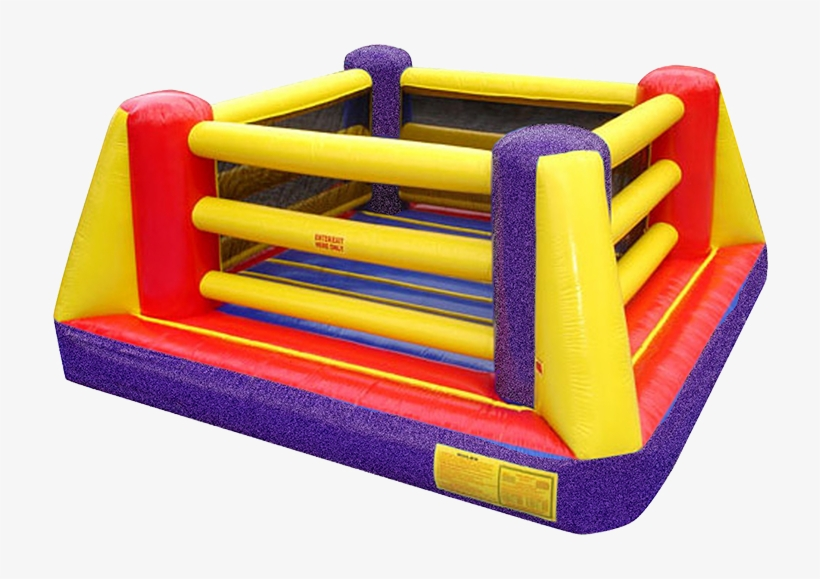 Bouncy Boxing Main Event Inflatable Boxing Ring Rental - Bouncy Boxing Ring, transparent png #8960638