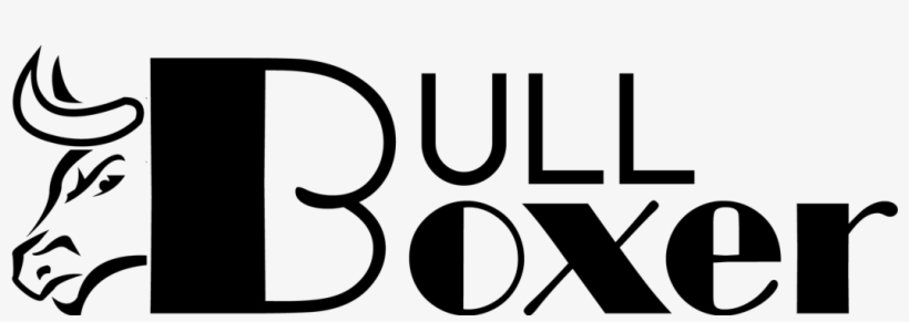 Big Bull Poster Psd Logo Design - Music Store, transparent png #8969544