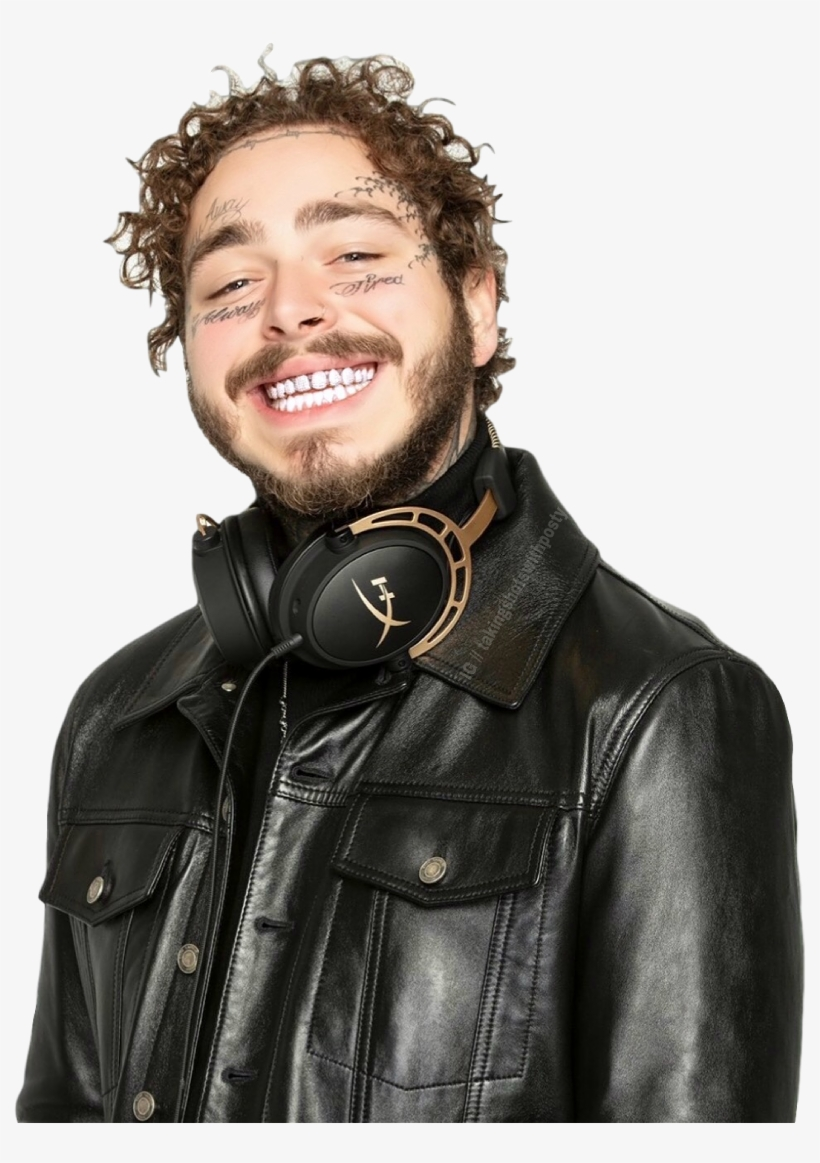 Postmalone Sticker Post Malone Hyperx Free Transparent Png Download Pngkey