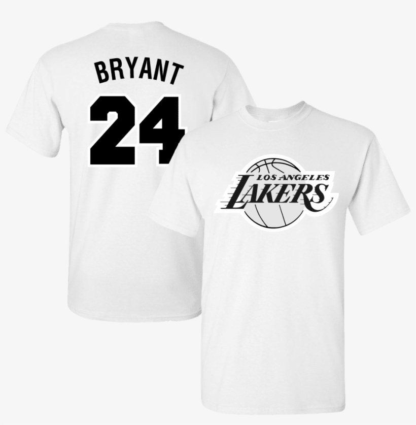 Men's Los Angeles Lakers Lebron James Black And White - Angeles Lakers, transparent png #8978133