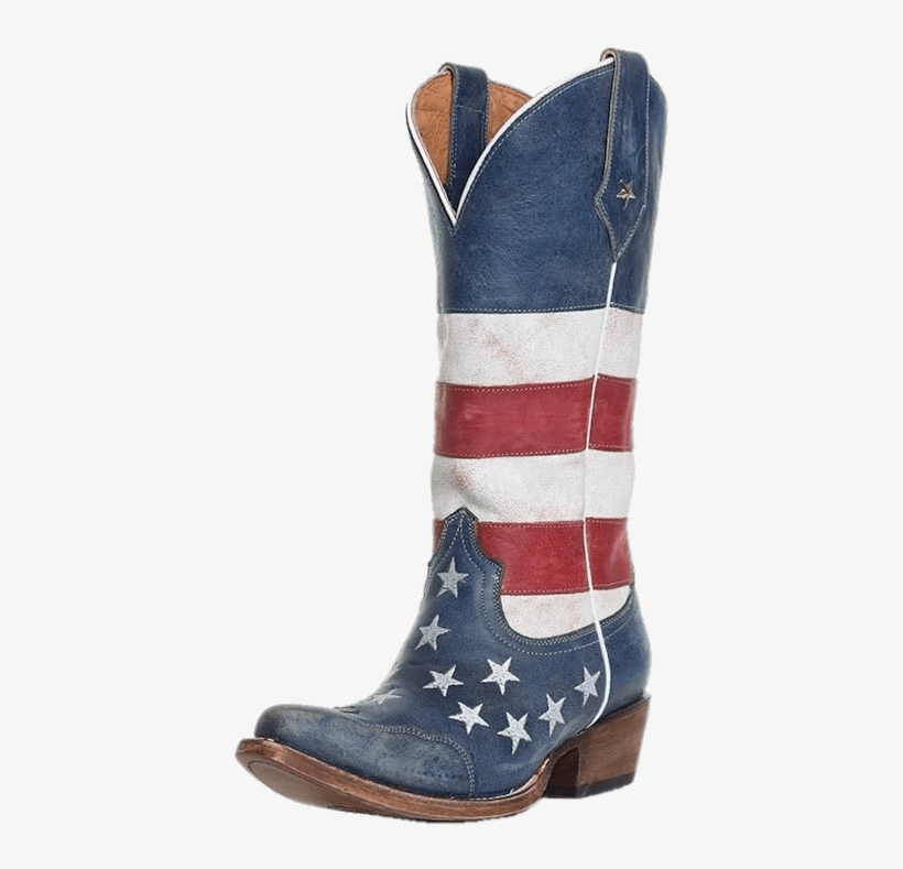 American Flag Women's Cowboy Boot - American Flag Cowboy Boots, transparent png #8992024