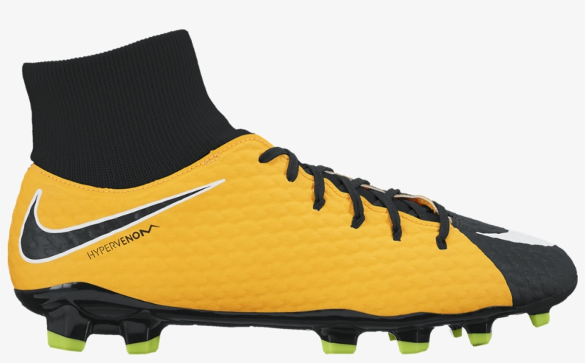 Football Boots Png Images Free Download Clipart Royalty - Nike Hypervenom Phelon 3 Df Fg, transparent png #8993898