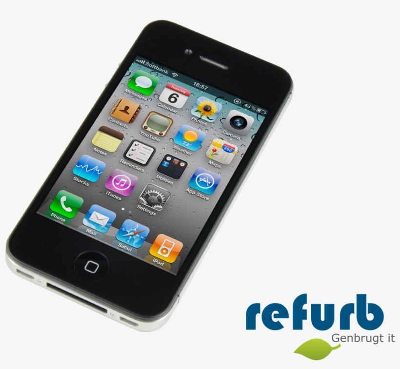 Apple Iphone 4s - Iphone 4, transparent png #8997262