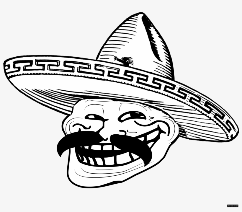 Mexican Troll Face Png