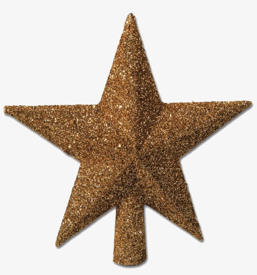 Christmas Gold Star Png Photos - Christmas Tree Star Png, transparent png #90777