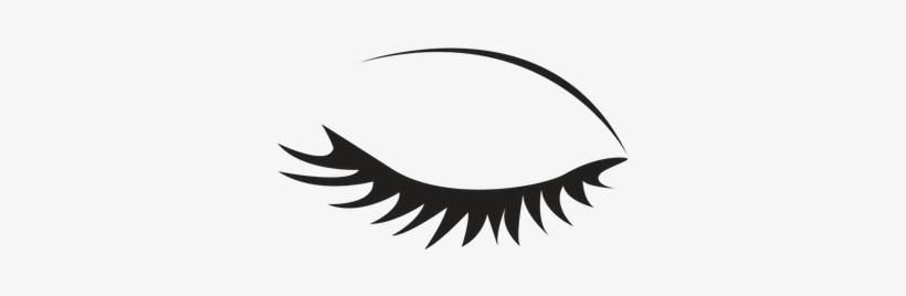 Eyelashes Png Transparent - Eyelash Clipart Black And White, transparent png #90820