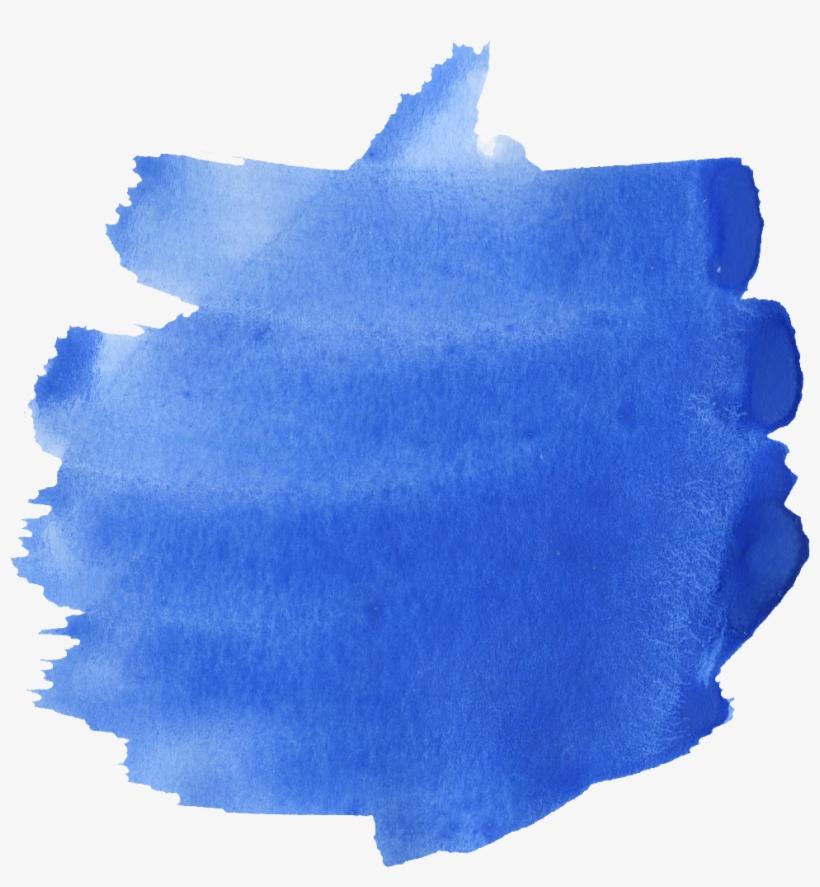 blue size download 52 blue watercolor brush stroke