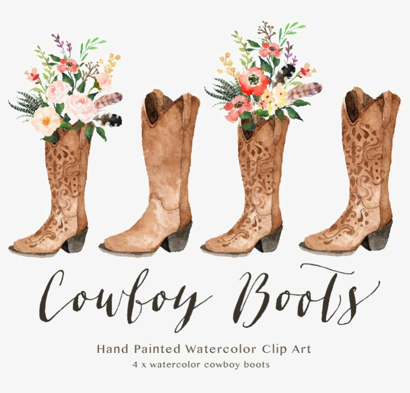 fb594f90d3647 Cowboy Boot Transparent Image - Cowgirl Boots Clipart - Free ...