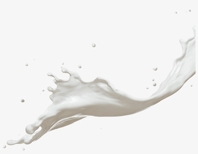 Milk Drop Png - Milk Splash Milk Png, transparent png #92116