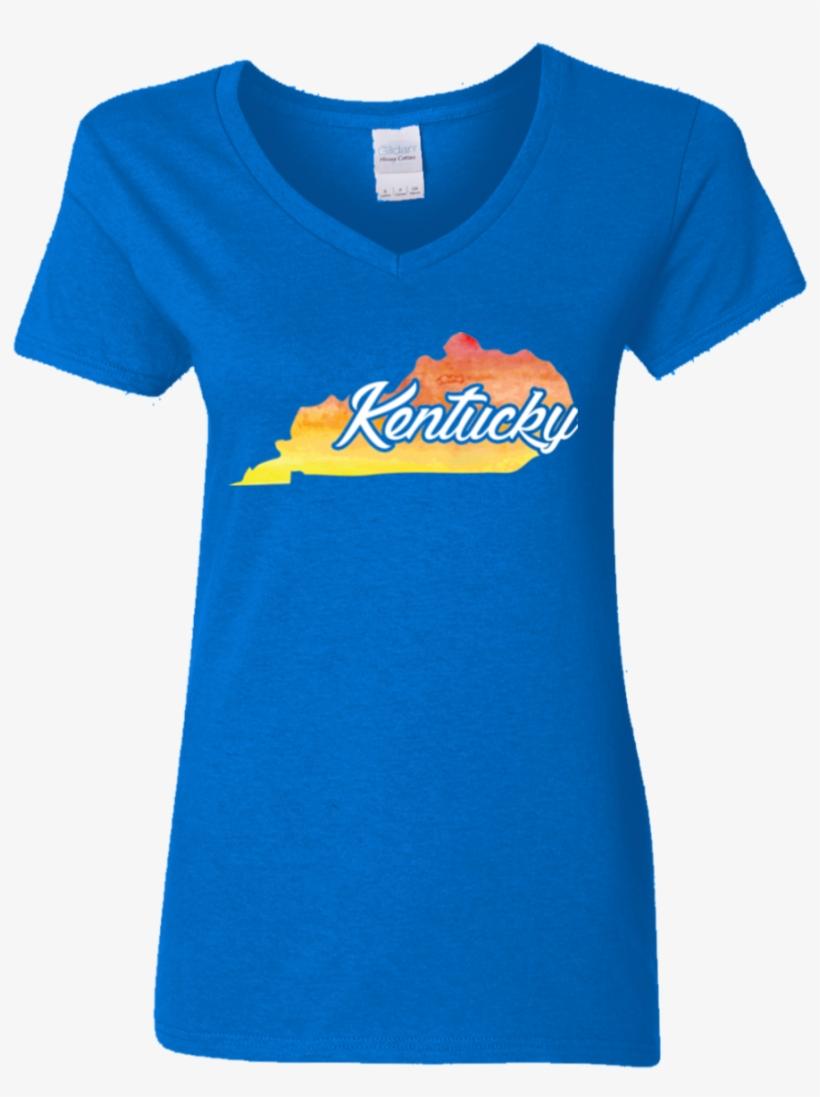 T Shirt Watercolor Kentucky Home T Shirts - Baseball American Flag T-shirt - Flag Baseball T Shirt, transparent png #92355