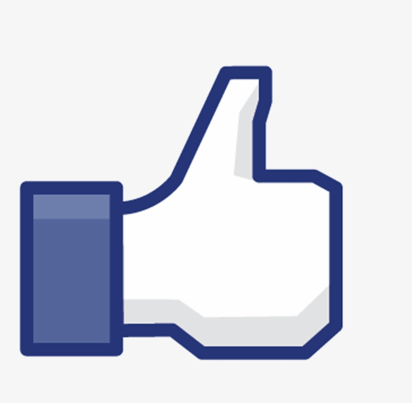 Facebook Like Buton - Facebook Like Button, transparent png #92567