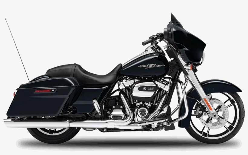 Drawing Motorcycle Harley Clip Art Library Library - Harley Davidson Street Glide, transparent png #92735
