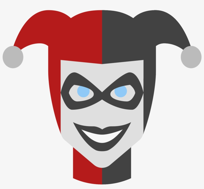 Harley Quinn Logo Png Pic - Harley Quinn Icon Png, transparent png #93571