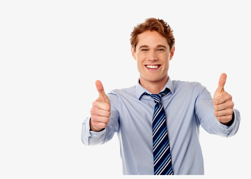 Men Pointing Thumbs Up Png Image - Thumbs Up Png, transparent png #93828
