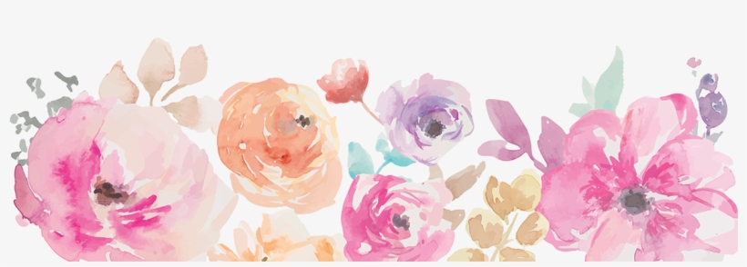 Image Result For Flowers Transparent Background - Watercolor Flower Border Png, transparent png #94250