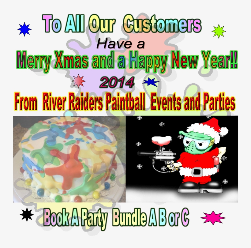 Merry Christmas Png Opt - Merry Christmas Paintball, transparent png #94776