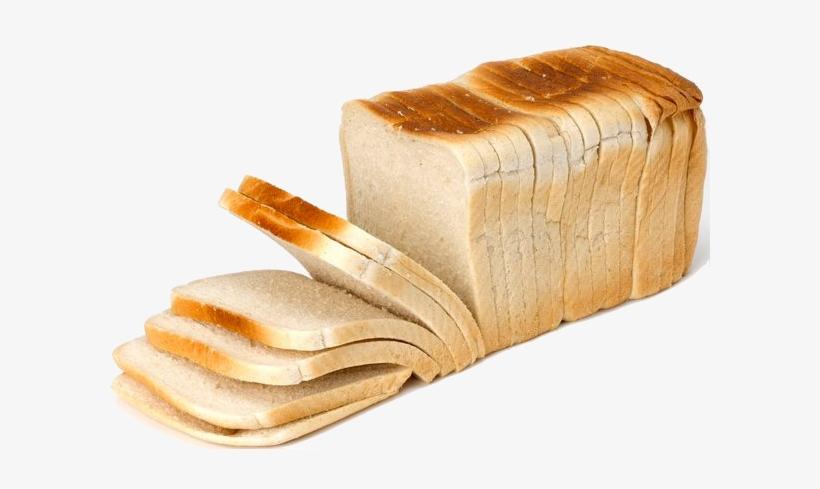 Loaf Of White Sliced Bread - Loaf Of Bread Png, transparent png #95108