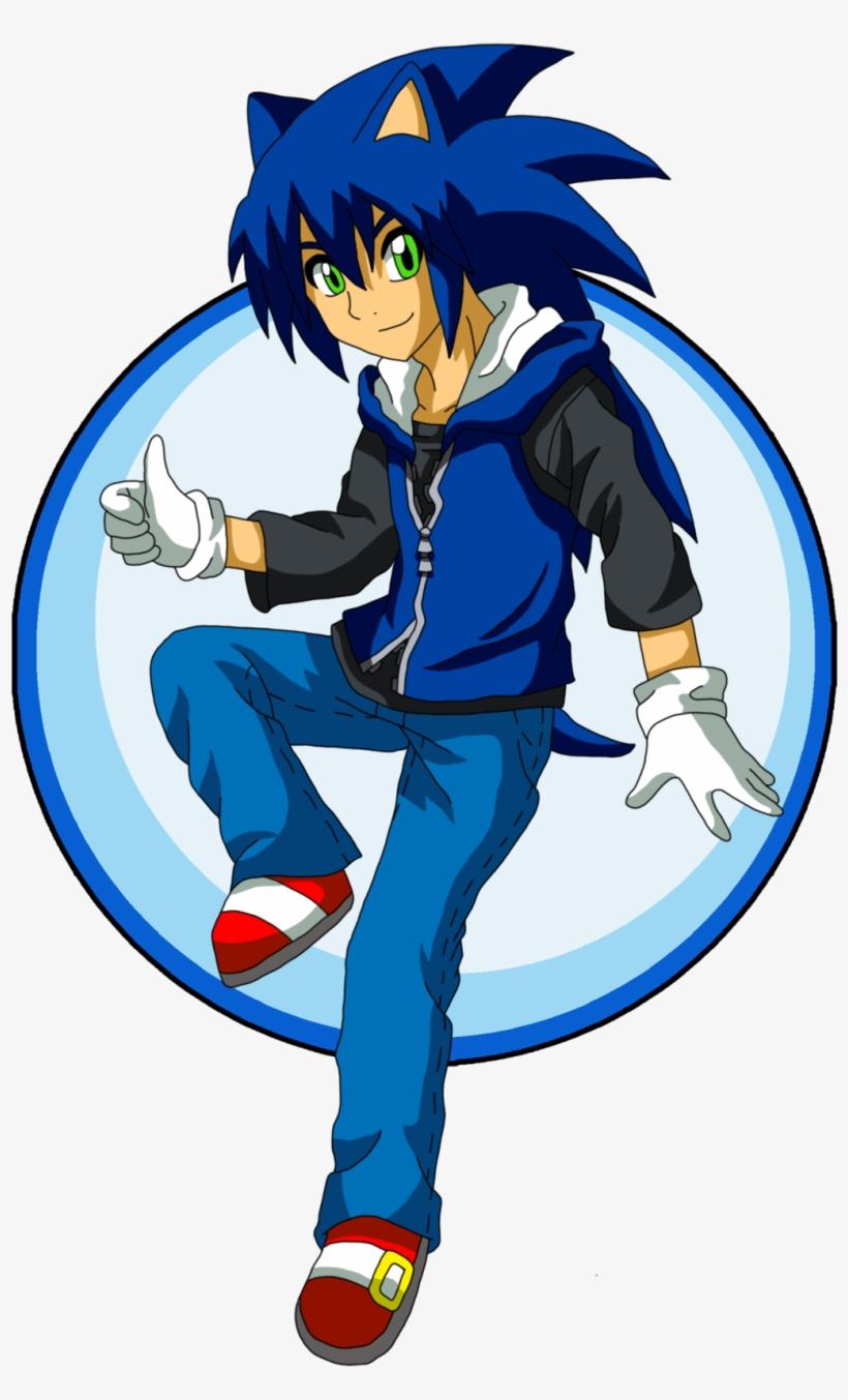 Sonic The Hedgehog Human - Human Sonic The Hedgehog, transparent png #95841