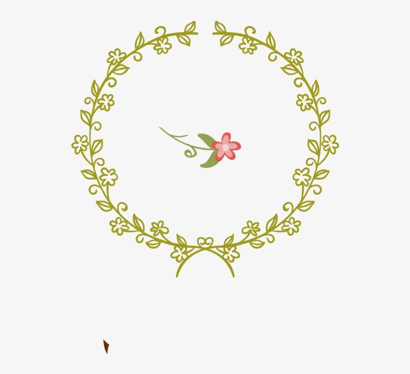 Wedding Invitation Wreath Flower - Circle Ornament Vector Freepik, transparent png #95861