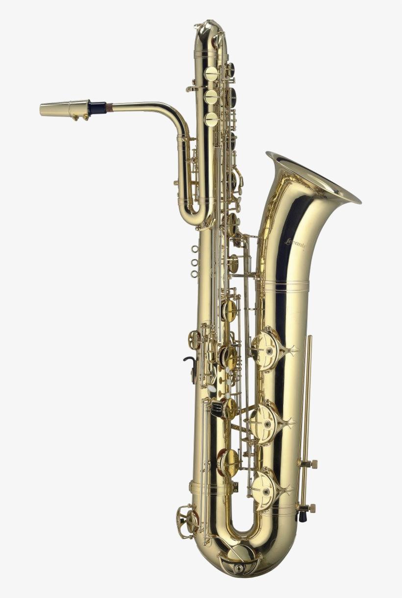 Bass Saxophone - Levante Lv-sb5105 Bbb Bass Saxophone W/ Light Case, transparent png #96002