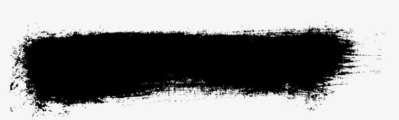 Grunge Brush Stroke Png Banner Download - Black Brush Stroke Png, transparent png #96492