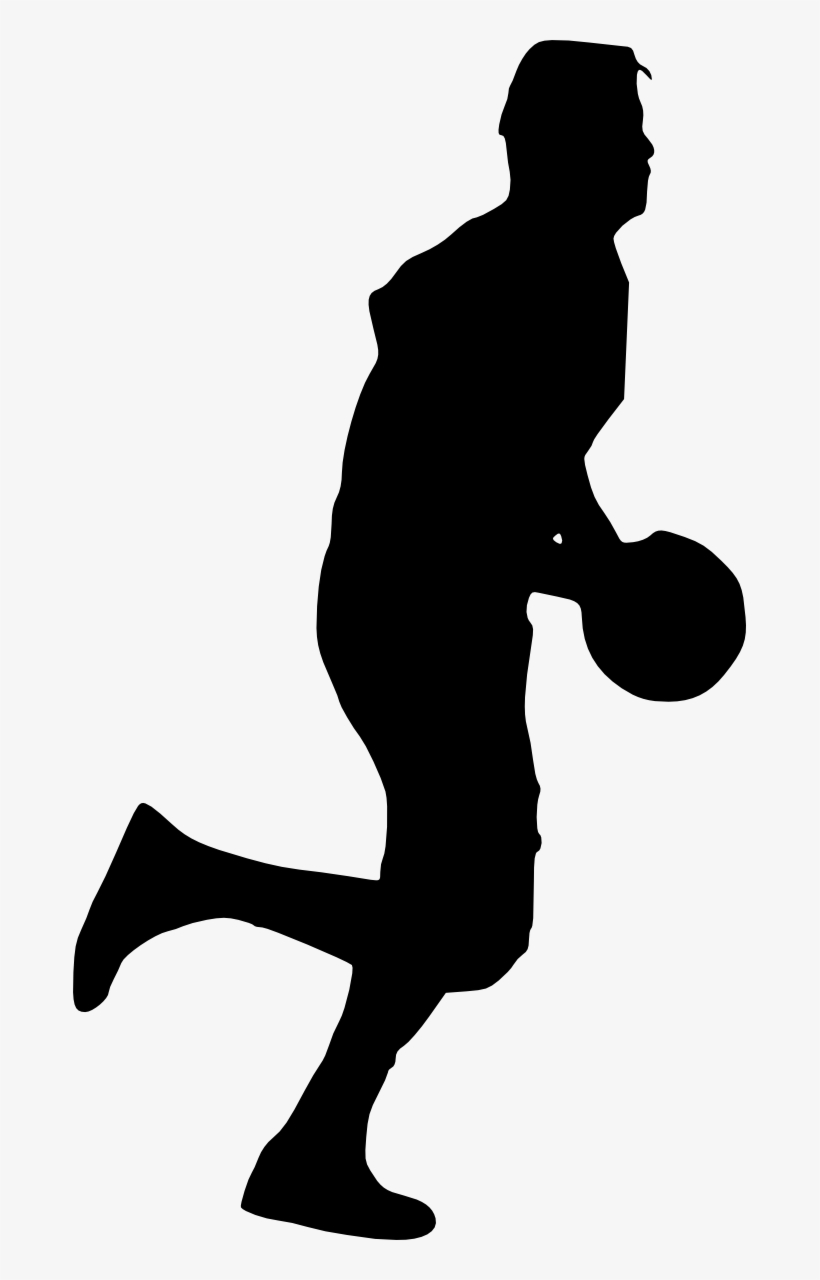 Free Download - Transparent Basketball Silhouette Clipart, transparent png #96612