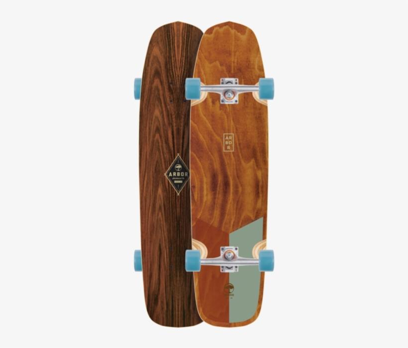 Arbor Hybrid Premium Longboard Skateboard, Complete - Arbor Hybrid Foundation Skateboard, transparent png #96754