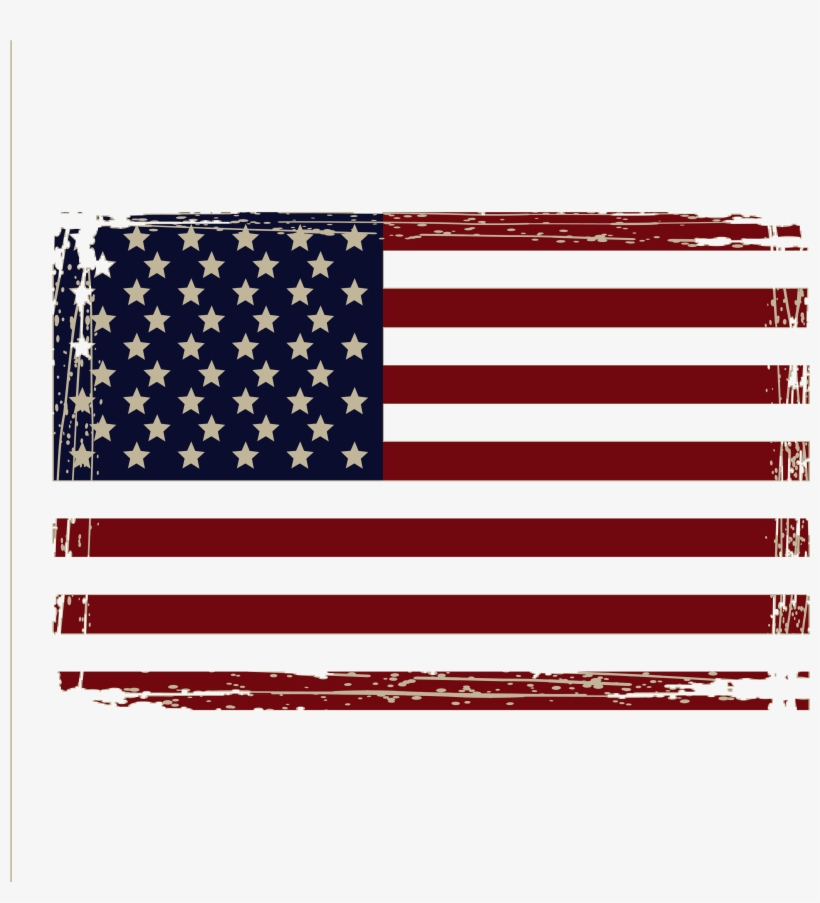 Distressed American Flag Png Picture Freeuse Library - American Flag Distressed Png, transparent png #96772