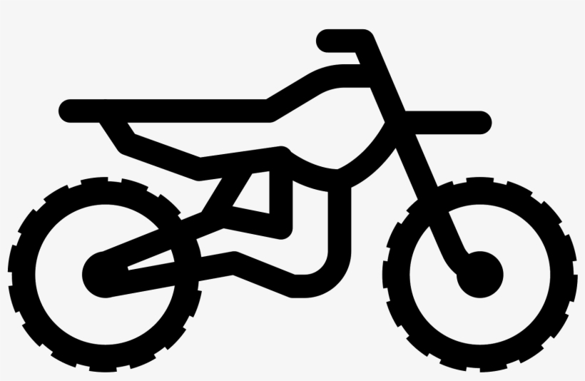 Icon Free Download Png - Dirt Bike Icon, transparent png #97357